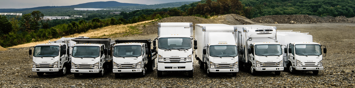 isuzu work trucks