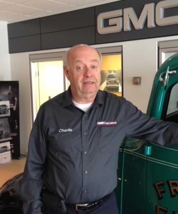 Charlie Opalach- Truck Sales Rep