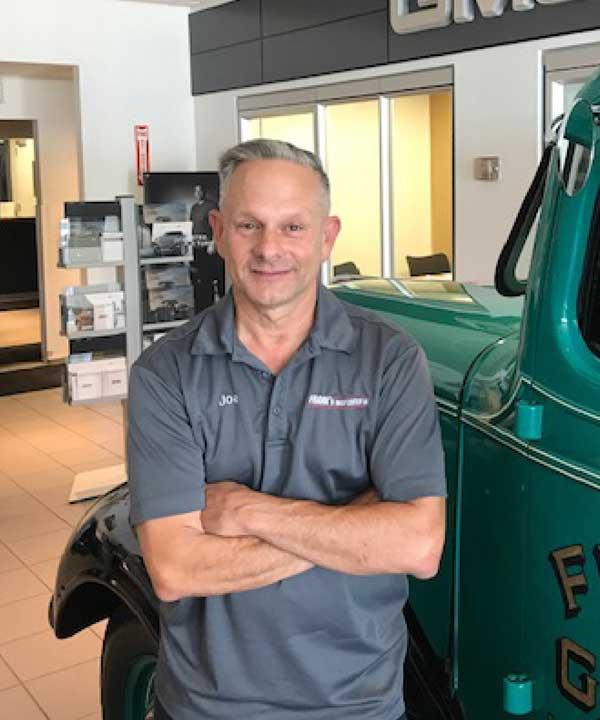 Joseph Pezzolla-VP Service Manager