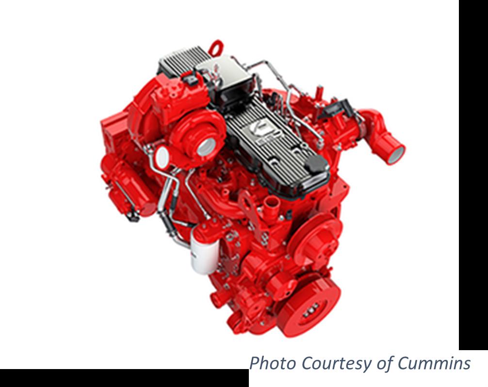 Cummins B6-6 Diesel Engine